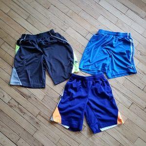 Three Athletic Shorts
